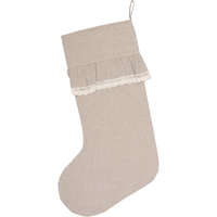Farmhouse Chambray Stocking Carol