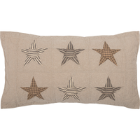 Sawyer Mill Star Sham Country Primitive Bedding