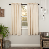 Simple Life Flax Natural Curtain Panel
