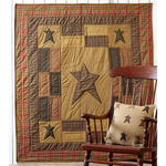 Stratton Quilted Throw - BJS Country Charm