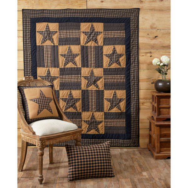 Teton Star Quilted Throw - BJS Country Charm