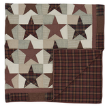 Rustic Country Primitive Abilene Star Quilt - BJS Country Charm