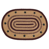 Potomac Star Braided Jute Rug 20x30 - BJS Country Charm