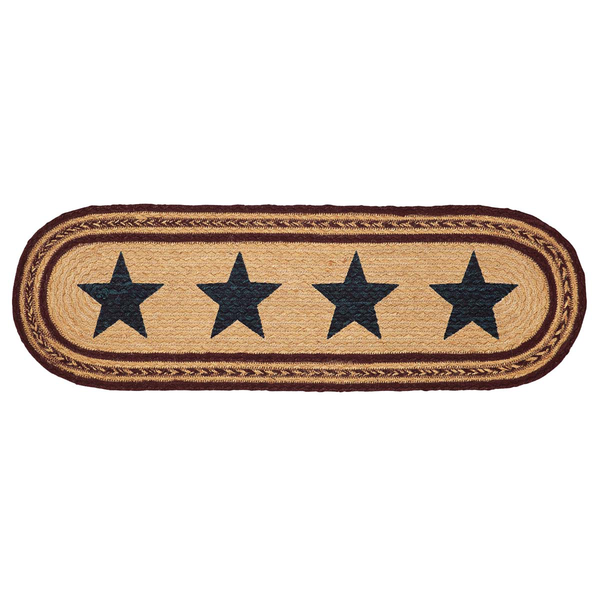 Americana Braided Table Runner Potomac Star