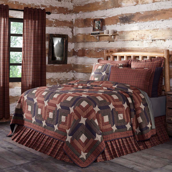 Rustic Country Primitive Parker Quilt - BJS Country Charm
