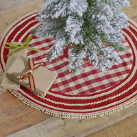 Country Primitive Gretchen Tree Skirt 21""