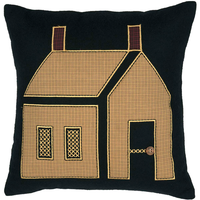 Heritage Farms Primitive House Pillow - BJS Country Charm