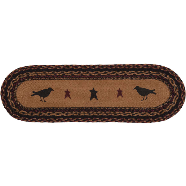 "Heritage Farms Crow Star Tread Runner 27"" - BJS Country Charm"