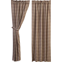 Rory Brown Curtain Panels - BJS Country Charm