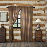Wyatt Rustic Curtain Panels - BJS Country Charm