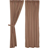Crosswoods Plaid Curtains - BJS Country Charm