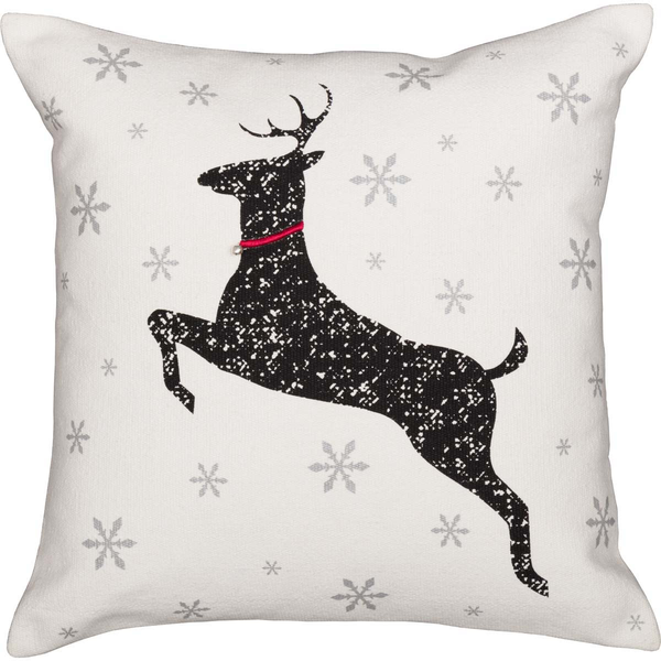 Emmie Deer Pillow 18x18 - BJS Country Charm