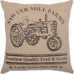 Sawyer Mill Tractor Pillow - BJS Country Charm