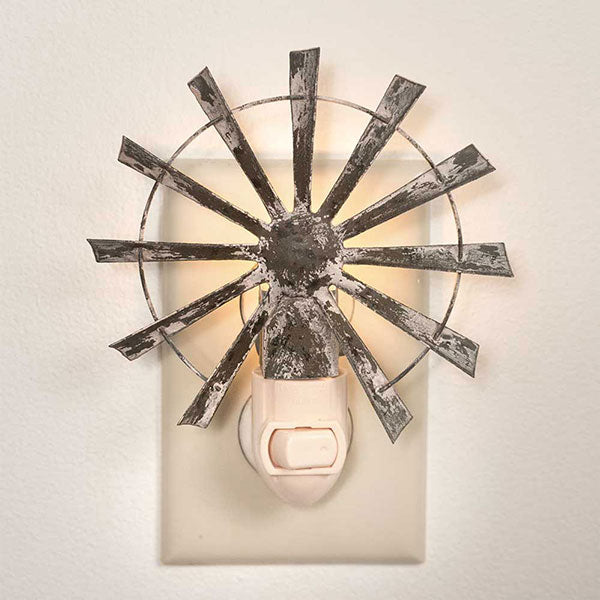 Primitive Windmill Nightlight