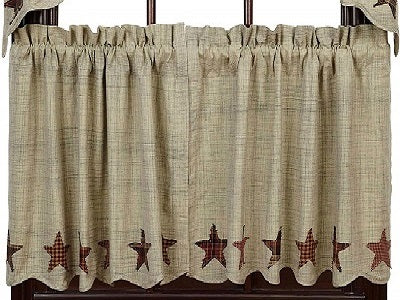 Country Primitive Abilene Star Tiers