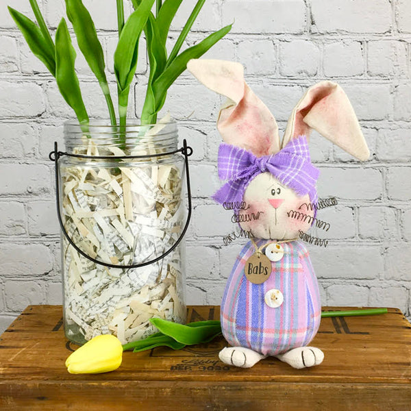 Country Primitive Babs The Bunny