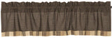 Country Kettle Grove Border Block Valance