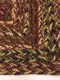 "Country Primitive Cider Mill Braided Stair Tread 27"" Rectangle - BJS Country Charm"