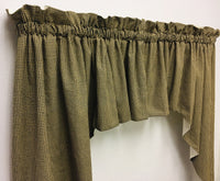 Handmade Country Primitive Homespun Curtains