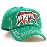 Mama Bear Christmas Baseball Hat