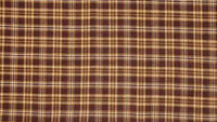 Country Primitive Prescott Brown Plaid Swags