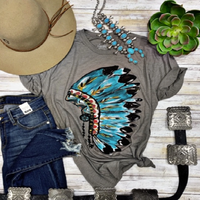 Callie's Headdress Graphic Tee