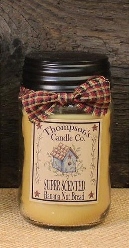 12 oz Jar Candle Banana Nut Bread - BJS Country Charm