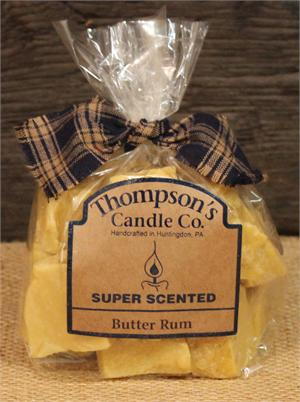 Butter Rum Wax Crumbles 6oz - BJS Country Charm