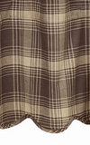 Dawson Star Brown and Khaki Curtain Panels - BJS Country Charm