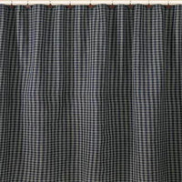 Sturbridge Navy Plaid Shower Curtain