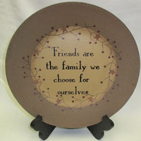 Primitive Friends are the Family Plate