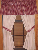 Muslin Curtains - BJS Country Charm