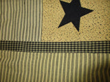 Primitive Star Shower Curtain - BJS Country Charm
