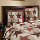 Rustic Country Primitive Abilene Star Quilt