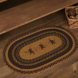 Heritage Farms Star & Pip Braided Oval Rug 20 x 30 - BJS Country Charm