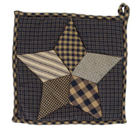 Country Primitive Farmhouse Star Pot Holder - BJS Country Charm