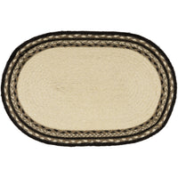 Country Primitive Kitchen Decor, Braided Placemat