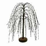 "Country Primitive Burgundy Pip Berry Willow Tree 18"" - BJS Country Charm"