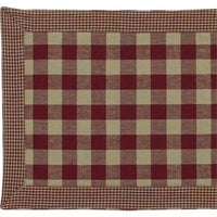 Country Primitive York Wine Table Runner