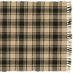 Black Lexington Table Runner 36""