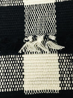 "Country Primitive Wicklow Black & Cream Table Runner 36"" or 54"" - BJS Country Charm"