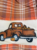 Country Primitive Fall Truck Valance - BJS Country Charm