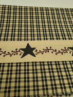 Primitive Berries Table Runner - BJS Country Charm