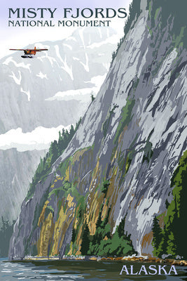 Alaska - Misty Fjords and Float Plane