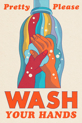 Sign - COVID-19 - Pretty Please Wash Your Hands