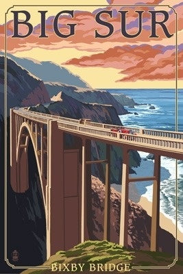California - Big Sur - Bixby Bridge