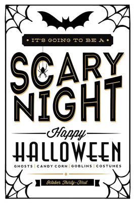 Halloween - Scary Night Typography