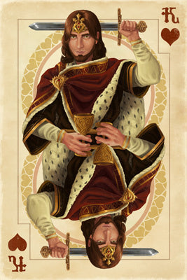 King of Hearts - Playing Card