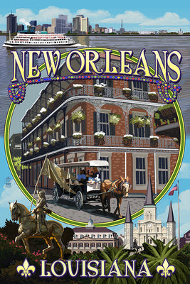 Louisiana - New Orleans Montage