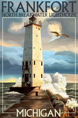 Michigan - Frankfort Lighthouse